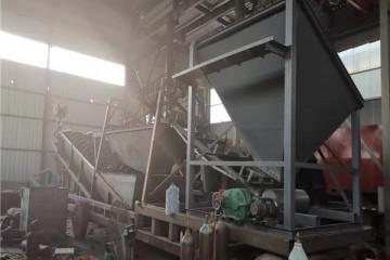 矿用洗选设备工作视频 双单螺旋洗砂机定制