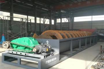 矿山洗砂设备定制 新型螺旋洗砂机生产厂家