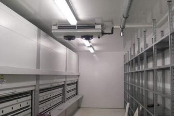 兰州皋兰县冷库建造之压缩机排气量不足的原因