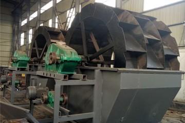 风火轮洗砂设备定制 大型洗砂生产线