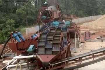 新型石粉洗砂机价格 青州洗砂机报价