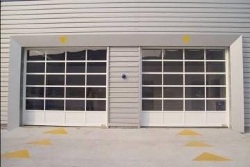 新华区车库门各种不同的安装方式