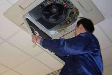 六盘水中央空调安装维修之如何防止中央空调缺氟