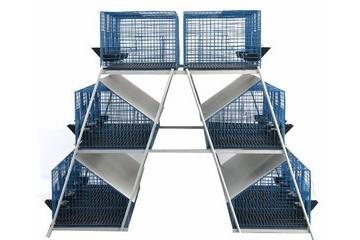 四川育肥笼|仔母兔笼|欧式兔笼|瓷砖兔笼
