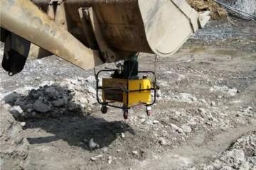 贵州隧道掘进用什么效率高之劈裂机的使用规范