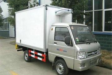 河南福田冷藏车价格是多少