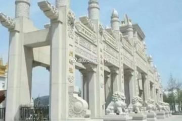 广东农村石牌坊的风格介绍和常见的石牌坊