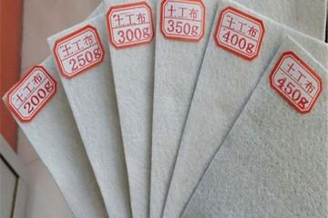 防渗土工布产品特点 市政工程专用土工布