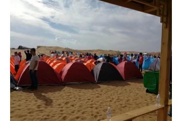 沙坡头旅游公司带你畅游沙漠露营