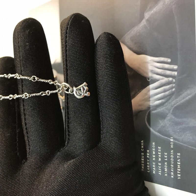 克罗心项链怎么戴