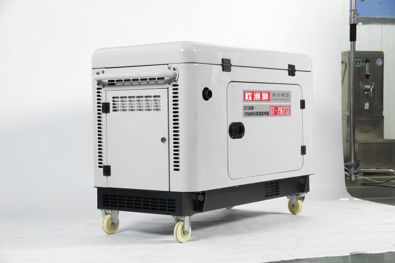 呼和浩特车载发电机厂家讲述超静音发电机结构材料