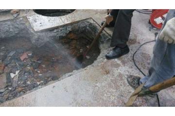 沙河暗管漏水检测