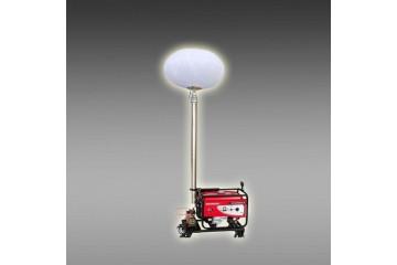 移动充气式月球灯 球形照明车 道路施工照明灯