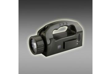 手摇式充电巡检工作灯 便携式巡检强光灯 多功能LED探照灯