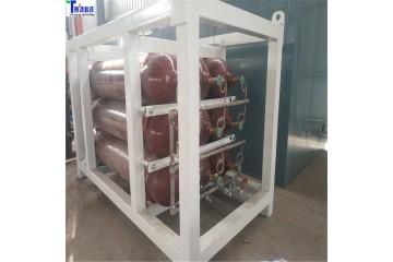 泰燃科技天然气瓶组站  高压天然气瓶组  压缩天然气瓶组供气站