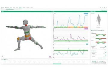 ErgoLAB动作姿态工效学分析系统