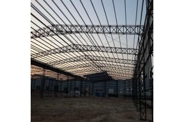 广西钢结构天桥厂家分析钢结构厂房存在的问题