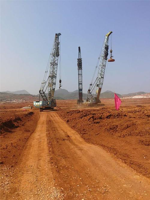 贵州地基强夯价格分析强夯施工机具的选用标准