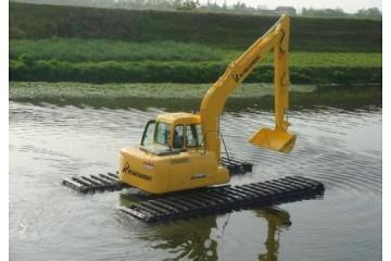 湖北水陆挖掘机和旱地挖掘机有什么不同