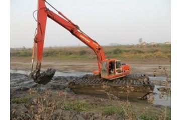 宜昌水陆挖掘机的各个构件有什么区别