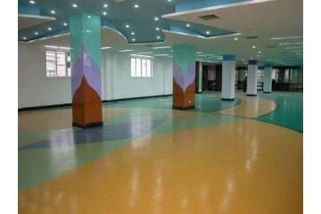 合肥PVC塑胶地坪施工之塑胶地板成为首选
