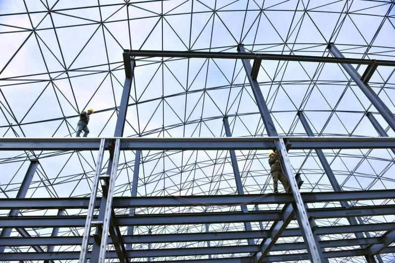 贵阳钢结构厂房大棚施工分析钢结构厂房维护