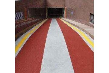 沙坪坝区彩色防滑路面的散热性怎么样?