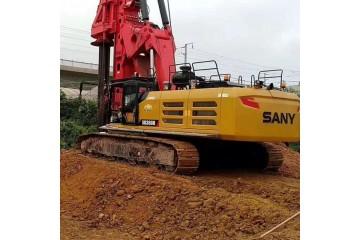 清远旋挖钻机施工整机出售分析旋挖钻机空调保养