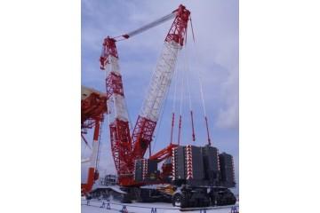 廊坊200吨履带吊出租分析履带吊安全标示
