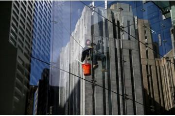 厦门高空外墙清洗 外墙玻璃面的清洁保养